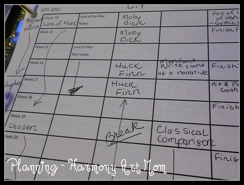 Planning High School Writing