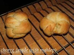 choreg (made with mahlep)