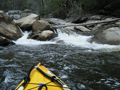 Approaching Whitewater Falls