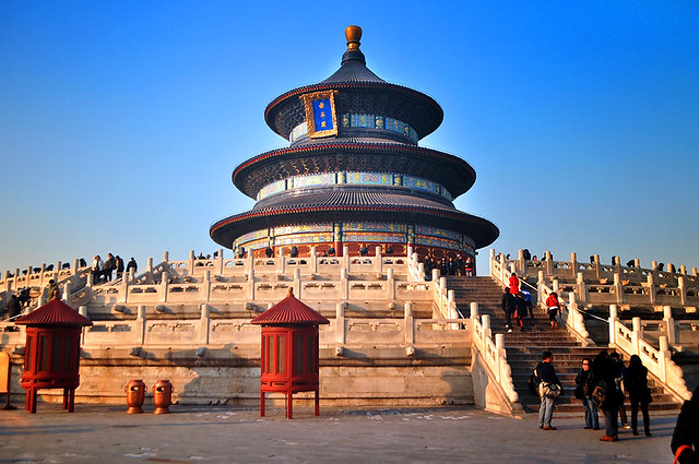 Temple of Heaven, Beijing 天坛,北京