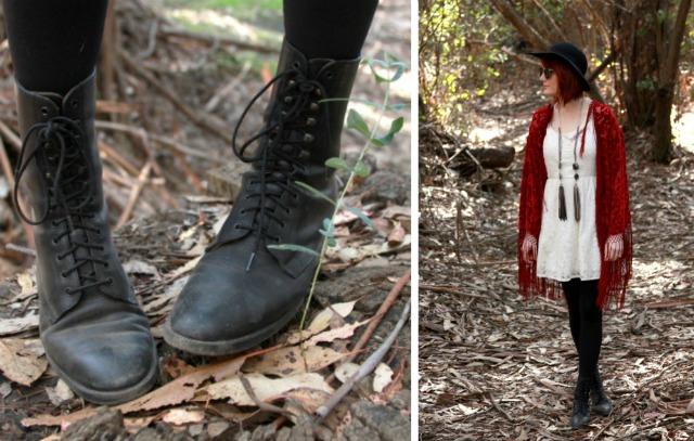 vintage boho boots