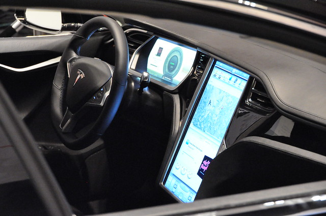 Lithium Ion Battery >> Tesla Model S - Inside view | Flickr - Photo Sharing!