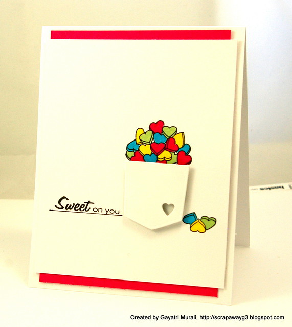 Sweet on You card