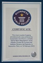 Certificado Record Guinness