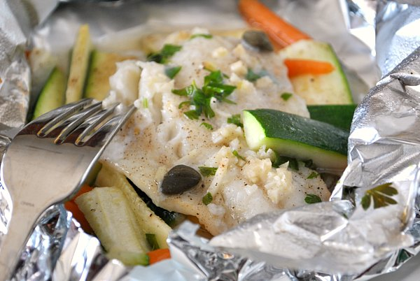 Cod fish packets
