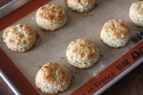 Cheese Biscuits with Scallions and Black Pepper