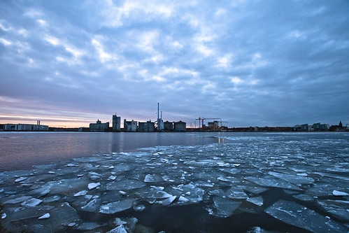Frozen skyline