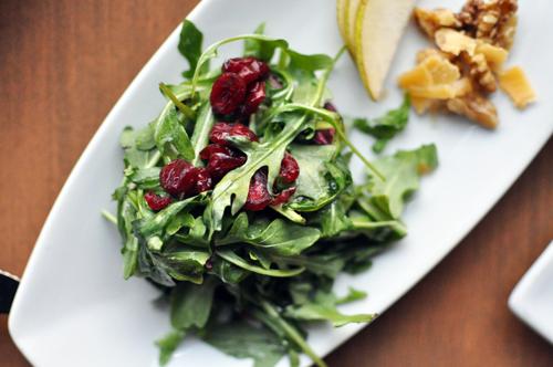 arugula salad with beemster xo