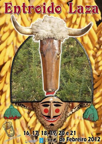 Laza 2012 - Entroido 2012 - cartel