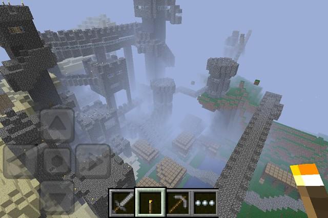 Minecraft pocket edition castle seed