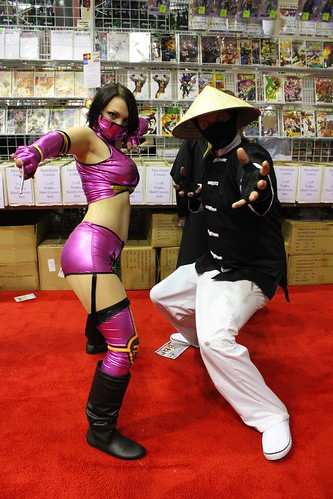 Mileena and Raiden - MegaCon 2012