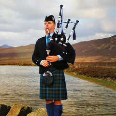 bagpipes, wind instrument,