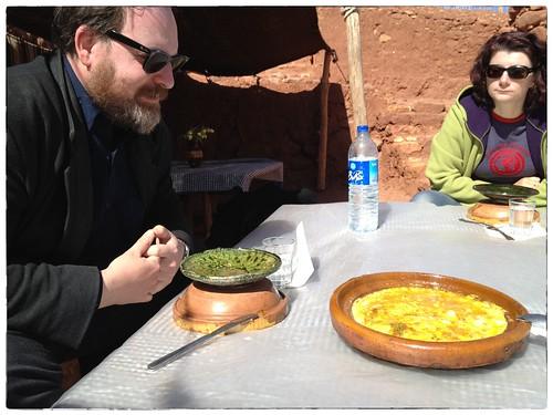 Eten bij de Berbers
