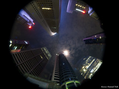 Raffles Place point of view