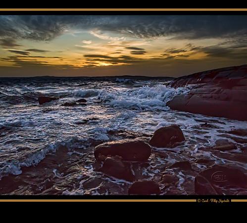 sunset sky water clouds europa sweden skandinavien himmel sverige scandinavia westcoast canonef2470mm28lusm bohuslän solnedgång moln grundsund västkusten skaftö canon5dmarkiii