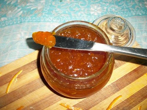 Homemade Orange Jam without Preservatives / Orange jam using
