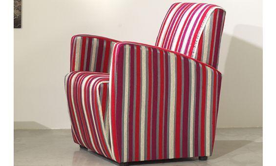 Sill n tapizado en tela de rayas flickr photo sharing for Sanchez granada sofas