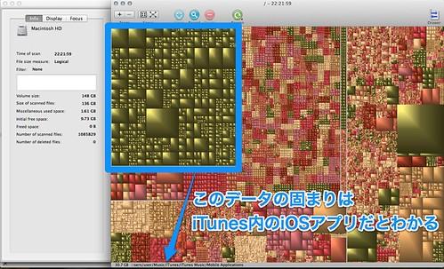 iOSアプリHDD圧迫!