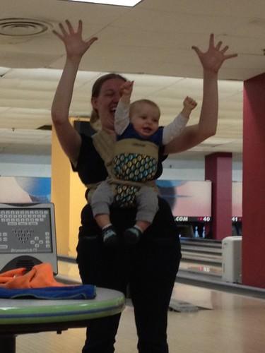 Babywearing Bowling