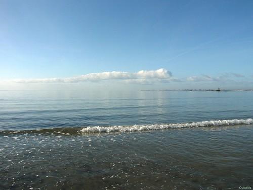 Quand le ciel se confond avec la mer