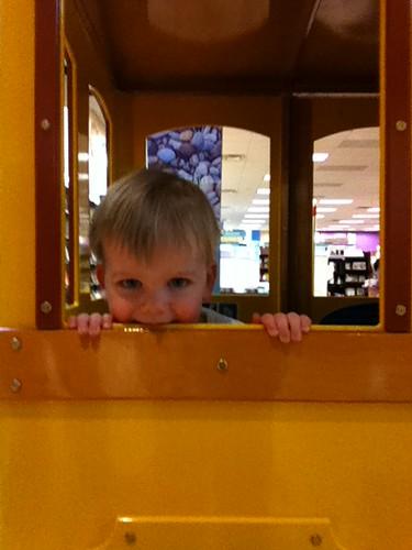 Jack on the Train