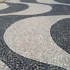 art, mosaic, flagstone, cobblestone, flooring,