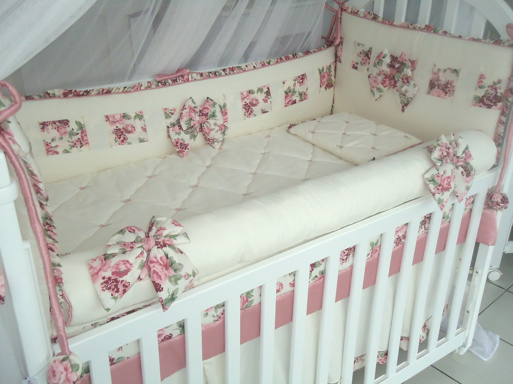 Борта в кроватку для новорожденных своими руками