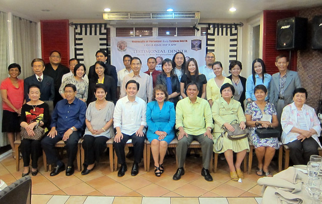 Testimonial Dinner For New Perpetualite Lawyers