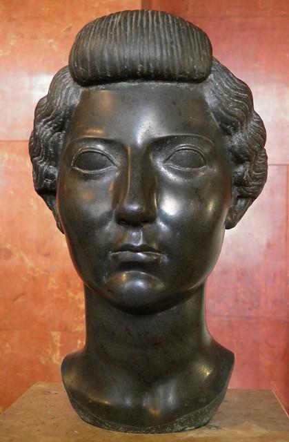 Livia Drusilla, wife of Emperor Augustus, Basalt, ca. 31 BC, Louvre Museum