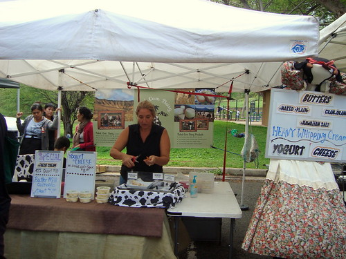 Naked Cow Dairy @ KCC Farmers' Market (Honolulu, HI)