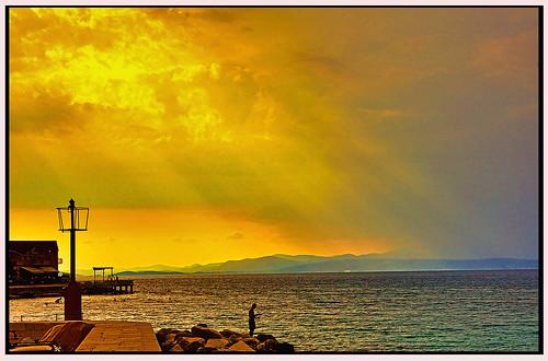 sea landscape island croatia dalmatia brach sutivan dalmacia flickraward