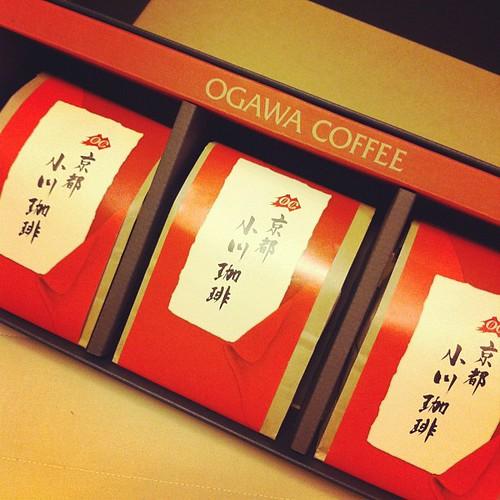 京都の実家からコーヒーギフト