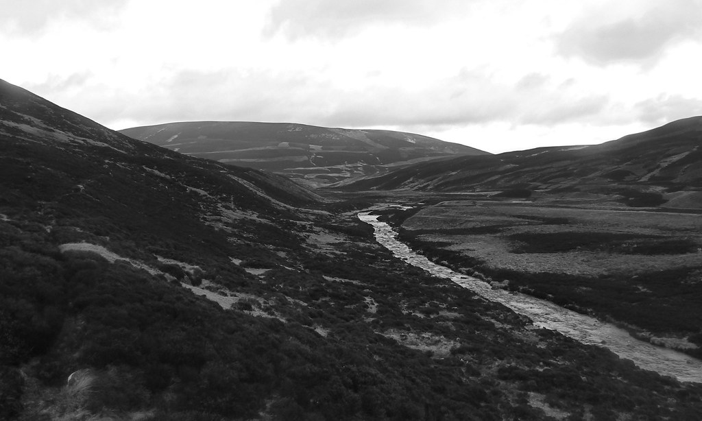Glen Gairn and Brown Cow Hill