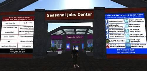 IRS career center in SL