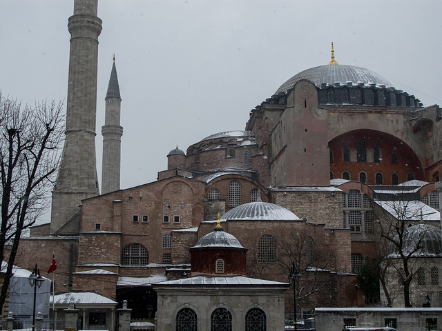 Hagia Sofia in the Snow