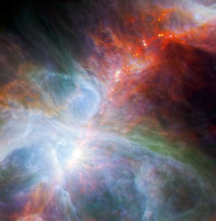 Herschel views the Orion Nebula