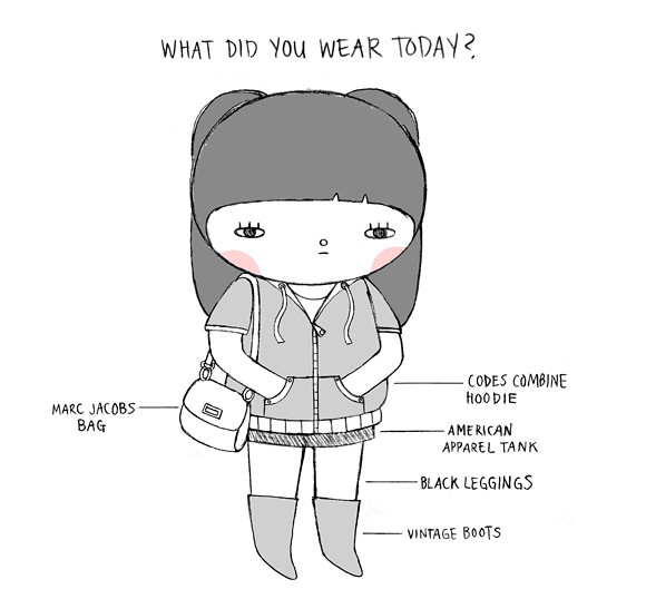 Andrea Kang's interview... What did you wear today?