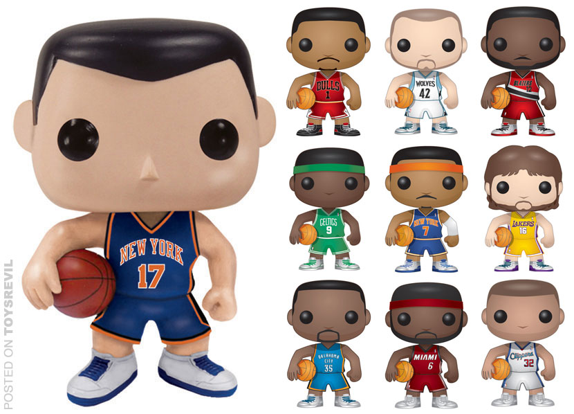 NBA: POP! Vinyl Figures from FUNKO title=