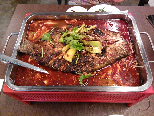 Chong Qing Grilled Fish
