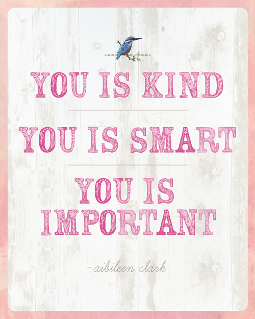 Carolina Postcard You Is Kind You Is Smart You Is Important