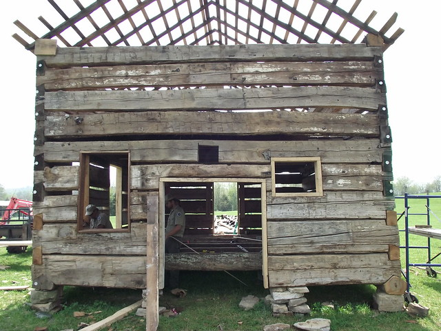 Robinson Cabin Restoration Robinson Cabin Restoration At