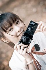 [フリー画像素材] 人物, 女性 - アジア, 台湾人, 学生, カメラ ID:201303051800