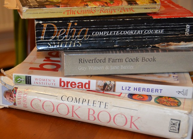 Top 5 favourite cookbooks