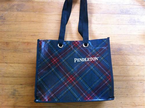 Pendleton tote bag