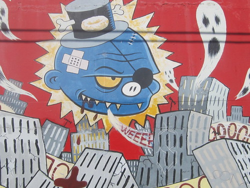 Street Art: Character Mural