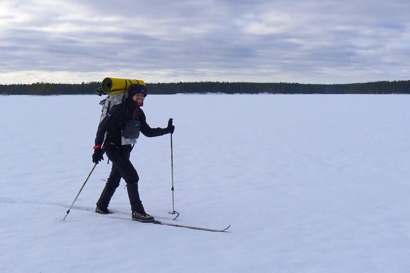 Lightweight skiing
