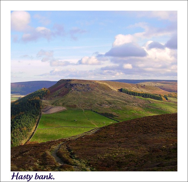Hasty bank and the Wainstones.