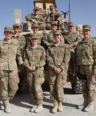 The women of Kentucky National Guard Agribusiness Development Team 4