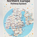 Silk screen poster - Northern Europe Railway System by zero per zero