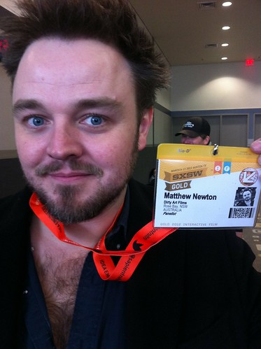 Matthew Newton. Actor in Jeffrey Tambor Acting Workshop #sxsw 2012